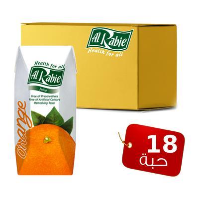 Nana نعناع كرتون عصير الربيع برتقال 200 مل 18