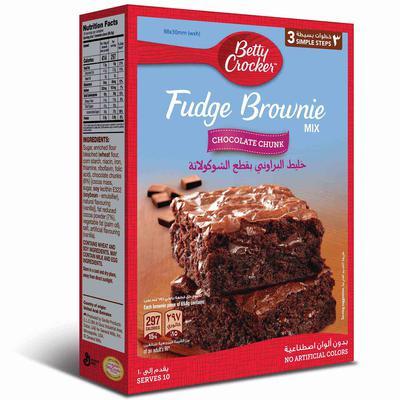 Nana نعناع خليط براوني بيتي كروكر بمكعبات الشوكولاتة 500 جرام