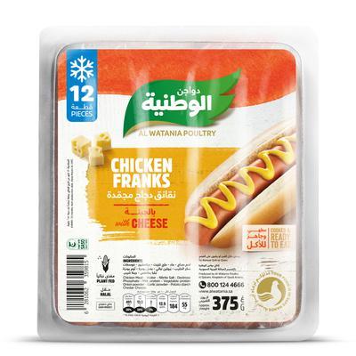 Nana نعناع نقانق دجاج الوطنية بالجبنة 375 جرام