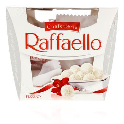 Nana نعناع شوكولاته بيضاء رافايلو اللوز وجوز الهند 150 جرام