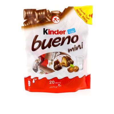 Nana نعناع شوكولاتة كيندر بوينو ميني مع الحليب والبندق 108 جرام