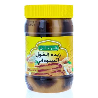 زبدة فول سوداني قودي ناعم 510 جرام مأكولات الإفطار
