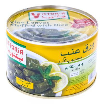 Nana نعناع ورق عنب فيكتوريا مشحي بالأرز 400 جرام