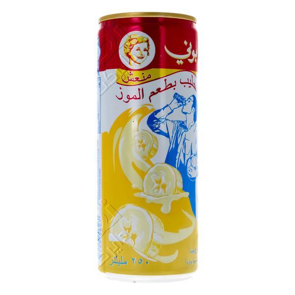 Nana نعناع حليب طويل الاجل بوني الموز 250 مل